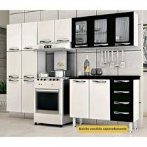 Cozinha Em Aço 3 Peças 11 Portas E Armário Triplo