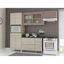 Cozinha Compacta Balcão Paneleiro Armário 4 Peças Kappesberg