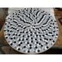 Mesa Giratória Em Mosaico De 70 Cm Em Pastilhas De Vidro
