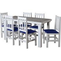 Conjunto De Mesa C/6 Cadeiras