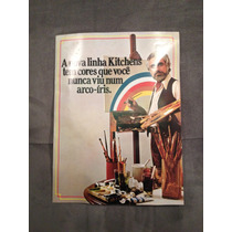 Catálogo Cozinha Kitchens - 1978 - Perfeito Estado.