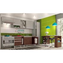 Cozinha Modulada Completa Connect Acabamento Em Bp 15mm