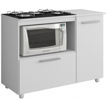 Balcão Para Cook Top E Forno 100l X 85a X 58p