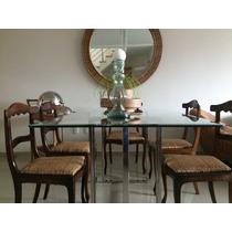 Mesa De Cozinha Ou Jantar - Retangular Em Aço Inox 304