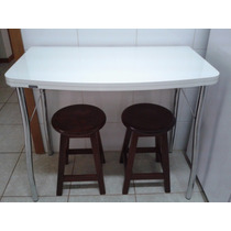 Mesa Dobrável Para Cozinha Branca 2 Tampos 24920317 Carraro