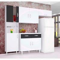 Cozinha Compacta Talita 4 Peças Paneleiro Balcão Armário