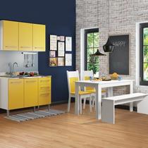 Cozinha Compacta Madesa Elis Glamy (grátis 1 Mesa, 2