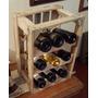 Adega De Madeira Para Vinhos Whisky Garrafas Bebidas