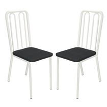Cadeira Espanha 2 Peças Dt Preto - Kappesberg