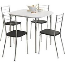 Mesa C/ 04 Cadeiras Para Copa / Cozinha - Promoção