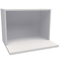 Suporte Para Microondas Branco 60x40x45 - 100% Mdf - Mv026