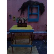 Mesa Cozinha Rustica, Mesa Corte Carnes,mesa Madeira