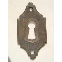 Espelho Antigo P/ Entrada De Chave Em Bronze (26)