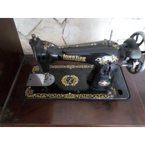 Pé Máquina De Costura Long Life Antiguidade Gabinete