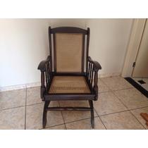 Cadeira De Balanço Antiga Raridade #1708