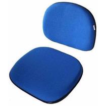Conjunto Assento E Encosto Para Cadeira Secretária