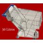 Carrinho De Supermercado 50 Litros Ouromaq/ourogold