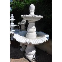 Chafariz De Mármore - Fmp036 - Decoração Jardim E Jardim
