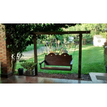 Namoradeira Balanço Jardim Madeira Nobre/lei Dormente