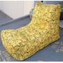 Sofá Tipo Puff - Tecido Impermeável - Enchimento De Isopor