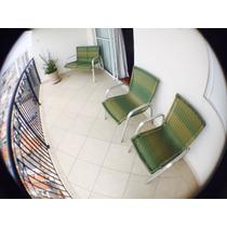 Cadeiras E Banco Em Alumínio Para Área Externa.