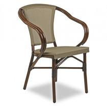 Cadeira Jardim Em Alumínio Com Revestimento Sintético