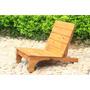 Cadeira Rústica De Madeira Para Varanda