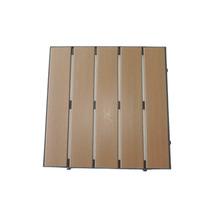 Deck Modular Em Madeira Plástica 50 X 50 Cm
