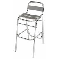 Cadeira Banqueta Alta Alumínio Mor Pronta Entrega C/nf