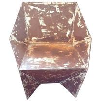 Cadeira Poltrona De Ferro 80l X 67p X 79a Usada