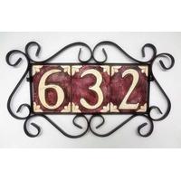 Número Residencial / Número Para Casa Artesanato Centena
