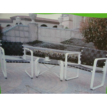Conjunto Bistro 2 Cadeiras 1 Mesa Aluminio Sacada E Jardim