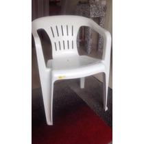 Poltrona Plástica Tramontina Cor Branca - Super Confortável