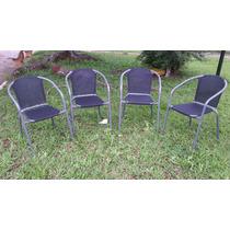 Jogo De Cadeiras Poltrona Jardim P/ Sacada/lazer/jardim