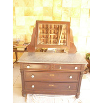Cômoda Penteadeira Pedra C/espelho Basculante-cod.25490/9931
