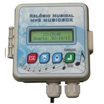 Relogio Sinaleiro Sinal Musical Mp3 Escolar