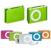 Mini Mp3 Player Rádio Fm Shuflle Clip Fone Cabo Suporta 8gb