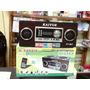 Caixa De Som Portatil Kayue Ky-907 Mp3 Com Radio Fm