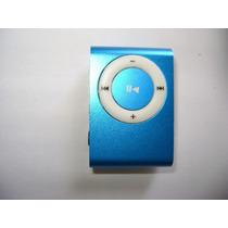 Mini Mp3 Player Clip + Carregador Usb + Fones-suporta 32gb