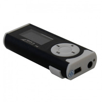 Mini Mp3 Player Lcd C/ Visor Digital Radio Fm Micro Sd 266ls