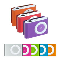 Mp3 Player Shuflle Clip + Cabo | Suporta Micro Sd De Até 8gb