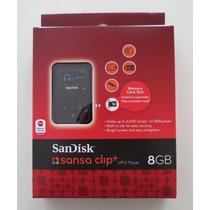 Mp3 Player Sandisk Sansa Clip Zip 8gb Original Novo Corrida