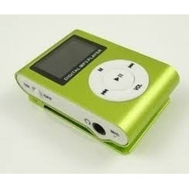 Kit 1 Mini Mp3 Player+fm Shuflle Clip + 1 Cartão De Sd 8gb