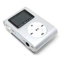Mp3 Player Design Shuffle Com Visor Lcd Fone Cabo Usb Clips