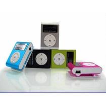 Mp3 Player Fm, 4gb Mini Shuffle Clip Visor Lcd