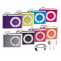 Mini Mp3 Player Sd Lcd Clip Metal Slim Frete Gratis