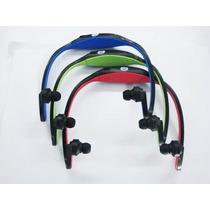 Mp3 Player Tipo Fone De Ouvido Sem Fio Wireless