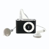 Mini Mp3 Player Shuflle Clip Com Entrada Para Cartão