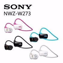 Sony Nwz-w273s 4gb Walkman Sports Mp3 Player À Prova De Água