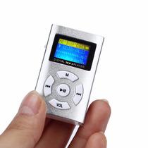 Mp3 Player Shuflle Clip C/ Entrada Cartão D Memória Micro Sd